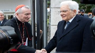 5 - Mattarella in visita all'Ospedale prediatrico Bambin Gesù di Roma per i 150 anni della Fondazione