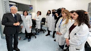 7 - Mattarella in visita all'Ospedale prediatrico Bambin Gesù di Roma per i 150 anni della Fondazione