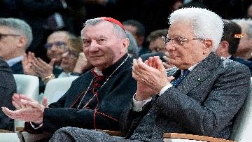 4 - Mattarella in visita all'Ospedale prediatrico Bambin Gesù di Roma per i 150 anni della Fondazione