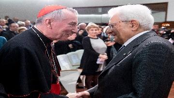 3 - Mattarella in visita all'Ospedale prediatrico Bambin Gesù di Roma per i 150 anni della Fondazione