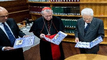14 - Mattarella in visita all'Ospedale prediatrico Bambin Gesù di Roma per i 150 anni della Fondazione