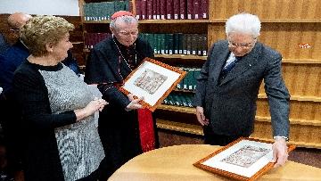 11 - Mattarella in visita all'Ospedale prediatrico Bambin Gesù di Roma per i 150 anni della Fondazione