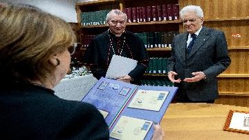 16 - Mattarella in visita all'Ospedale prediatrico Bambin Gesù di Roma per i 150 anni della Fondazione
