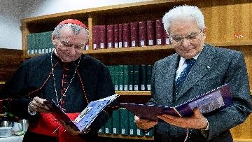 12 - Mattarella in visita all'Ospedale prediatrico Bambin Gesù di Roma per i 150 anni della Fondazione