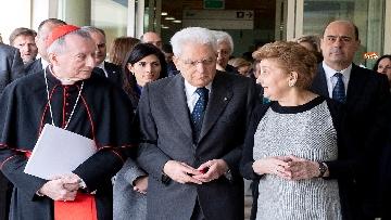 15 - Mattarella in visita all'Ospedale prediatrico Bambin Gesù di Roma per i 150 anni della Fondazione