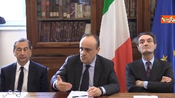 4 - Bonisoli alla firma del protocollo per la valorizzazione del sistema museale del Design milanese