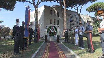 9 - Mattarella al 77° anniversario Difesa di Roma, l'omaggio ai caduti al Parco della Resistenza. Le foto
