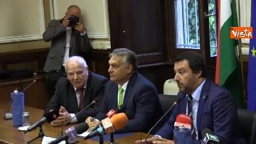10 - Incontro Salvini-Orban a Milano