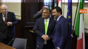 6 - Incontro Salvini-Orban a Milano