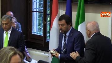 1 - Incontro Salvini-Orban a Milano