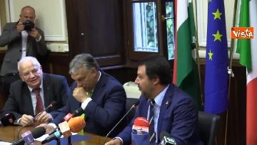8 - Incontro Salvini-Orban a Milano