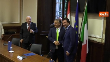 7 - Incontro Salvini-Orban a Milano