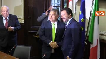 5 - Incontro Salvini-Orban a Milano