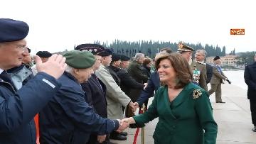 6 - 4 novembre, Casellati depone corona d'alloro al Sacrario militare di Redipuglia