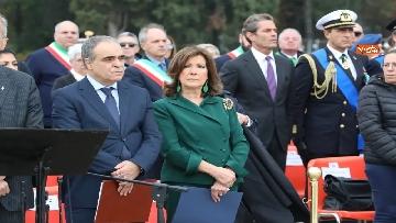 9 - 4 novembre, Casellati depone corona d'alloro al Sacrario militare di Redipuglia
