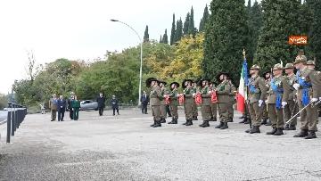 3 - 4 novembre, Casellati depone corona d'alloro al Sacrario militare di Redipuglia