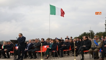 13 - 4 novembre, Casellati depone corona d'alloro al Sacrario militare di Redipuglia