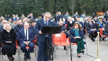 7 - 4 novembre, Casellati depone corona d'alloro al Sacrario militare di Redipuglia