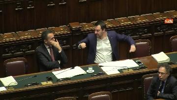 7 - Di Maio e Salvini al Question Time alla Camera dei Deputati