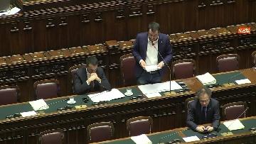 4 - Di Maio e Salvini al Question Time alla Camera dei Deputati