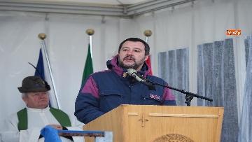 3 - Il ministro Salvini alla Foiba di Basovizza