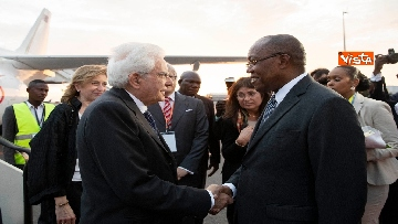 6 - Mattarella in visita di Stato in Angola
