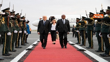 4 - Mattarella in visita di Stato in Angola