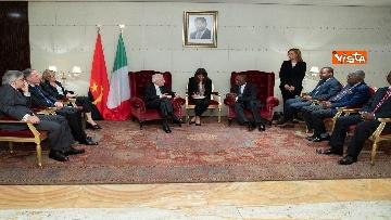 1 - Mattarella in visita di Stato in Angola
