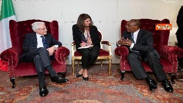 3 - Mattarella in visita di Stato in Angola
