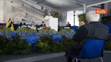 16 - Mattarella all'incontro internazionale di preghiera per la pace tra le religioni, le immagini