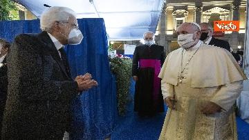 14 - Mattarella all'incontro internazionale di preghiera per la pace tra le religioni, le immagini