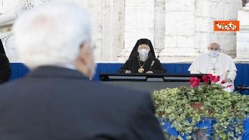 6 - Mattarella all'incontro internazionale di preghiera per la pace tra le religioni, le immagini