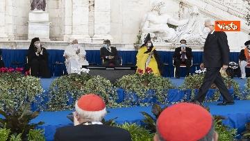 11 - Mattarella all'incontro internazionale di preghiera per la pace tra le religioni, le immagini