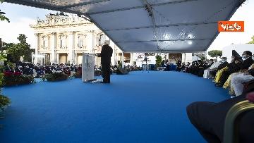 8 - Mattarella all'incontro internazionale di preghiera per la pace tra le religioni, le immagini