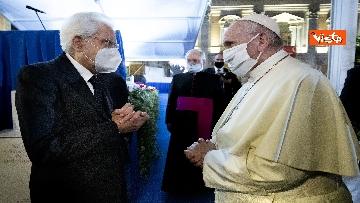 15 - Mattarella all'incontro internazionale di preghiera per la pace tra le religioni, le immagini