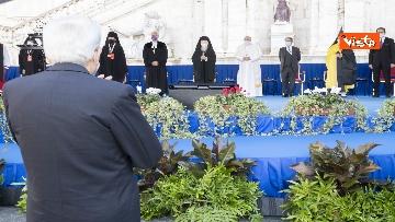 5 - Mattarella all'incontro internazionale di preghiera per la pace tra le religioni, le immagini