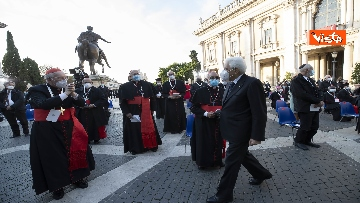 2 - Mattarella all'incontro internazionale di preghiera per la pace tra le religioni, le immagini