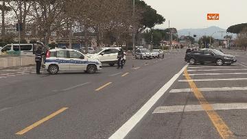 8 - Controlli serrati della Polizia di Roma. Ecco i posti di blocco sull'Anagnina