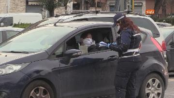 6 - Controlli serrati della Polizia di Roma. Ecco i posti di blocco sull'Anagnina