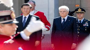 3 - Il Presidente della Repubblica cinese Xi Jinping al Quirinale