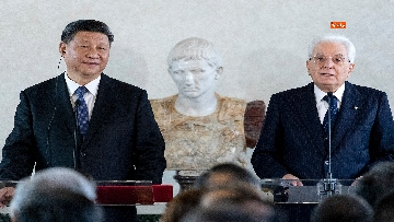 4 - Il Presidente della Repubblica cinese Xi Jinping al Quirinale