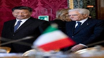 7 - Il Presidente della Repubblica cinese Xi Jinping al Quirinale
