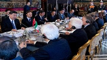 8 - Il Presidente della Repubblica cinese Xi Jinping al Quirinale