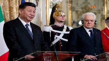16 - Il Presidente della Repubblica cinese Xi Jinping al Quirinale