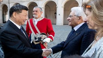 2 - Il Presidente della Repubblica cinese Xi Jinping al Quirinale
