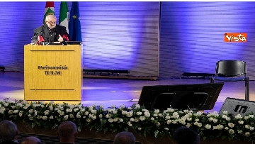 6 - Mattarella partecipa all'inaugurazione dell'anno accademico della IULM a Milano
