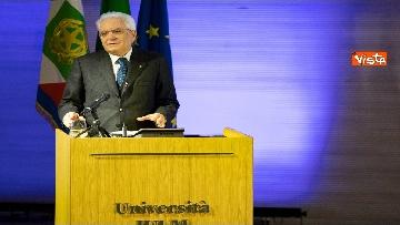 1 - Mattarella partecipa all'inaugurazione dell'anno accademico della IULM a Milano