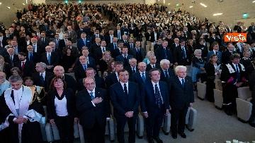5 - Mattarella partecipa all'inaugurazione dell'anno accademico della IULM a Milano