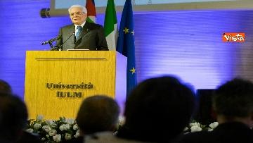 2 - Mattarella partecipa all'inaugurazione dell'anno accademico della IULM a Milano