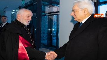 3 - Mattarella partecipa all'inaugurazione dell'anno accademico della IULM a Milano